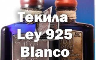 Текила Ley 925 и ее особенности