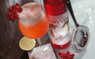 Рецепты приготовления коктейлей с гренадином