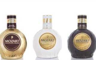 Ликер Моцарт и его особенности