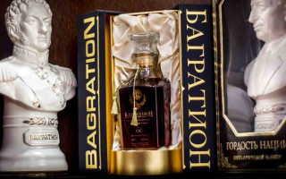 Коньяк Багратион и его особенности