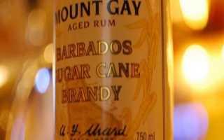 Обзор рома Mount Gay