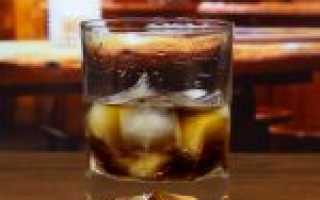 Рецепты приготовления коктейля Черный русский