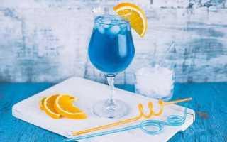 Как сделать коктейль Голубая лагуна в домашних условиях
