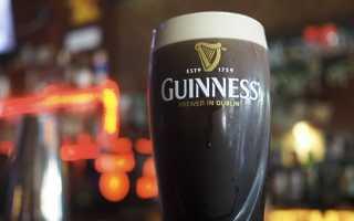 Пиво Гиннес и его особенности