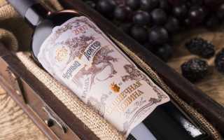 Вино Черный лекарь и его особенности