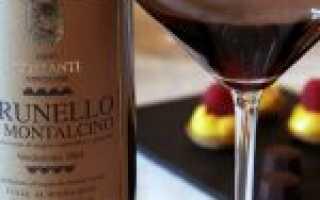 Обзор вина Брунелло