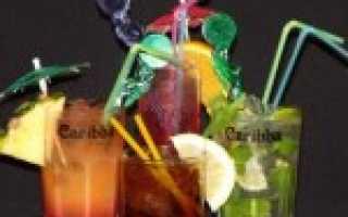 Рецепты коктейлей с ромом