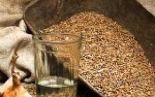 Рецепт приготовления самогона из ячменя
