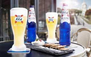 Пиво Кроненбург Бланк 1664 и его особенности
