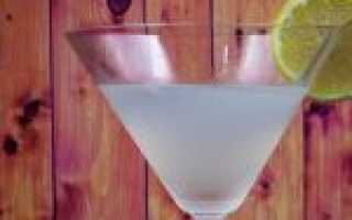 Как сделать коктейль Белая леди в домашних условиях